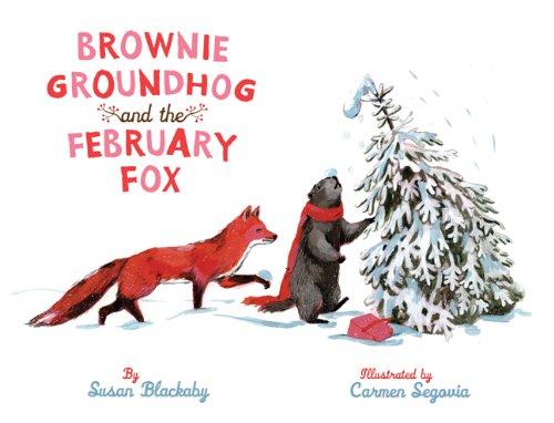 Brownie groundhog