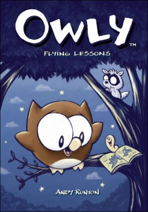 Owly A Series might hook them! There's a Book for That Titles with large boy appeal
