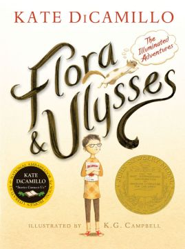 flora and ulysses  Ten MG and YA authors I read the most from There's a Book for That