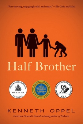 Half Brother  Ten MG and YA authors I read the most from There's a Book for That