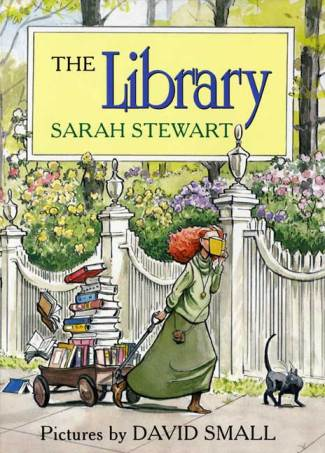 The Library  Because Good Little Books Must be Shared; celebrating books about #booklove There's a Book for That