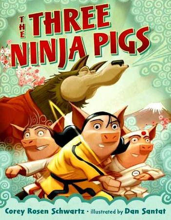The Three Ninja Pigs Top Ten Tuesday: Ten Favourite Fairytale Retellings There's a Book for That