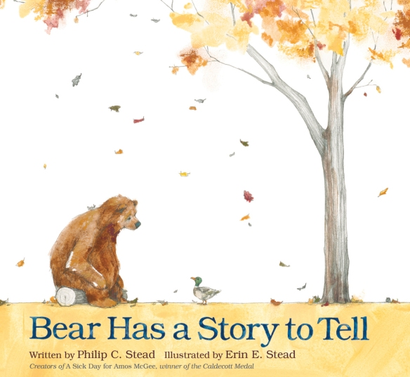 Bear Has a Story to Tell - There's a Book for That!