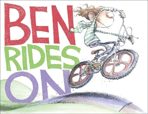 Ben Rides on There's a Book for That