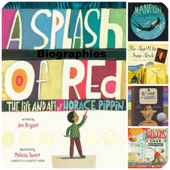 Biographies - Wonder Inducing NonFiction Read Alouds There's a Book for That
