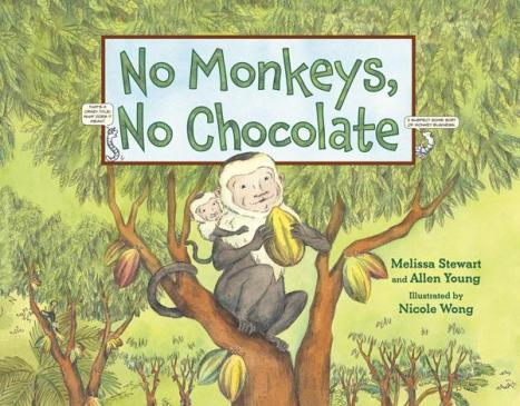 No Monkeys, No Chocolate #IMWAYR There's a Book for That