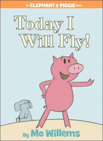 Today I Will Fly! #IMWAYR There's a Book for That