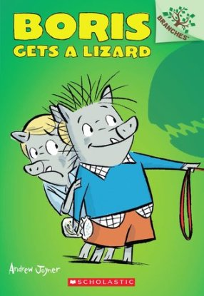 Boris gets a Lizard #IMWAYR There's a Book for That