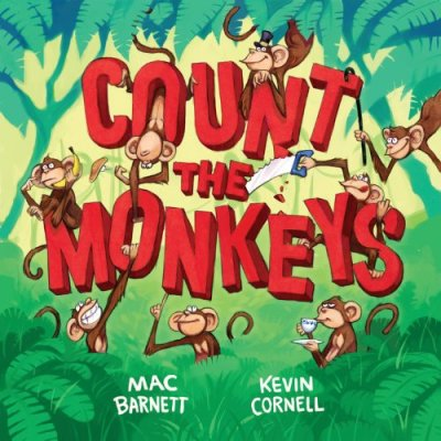 Count the Monkeys  #IMWAYR There's a Book for That