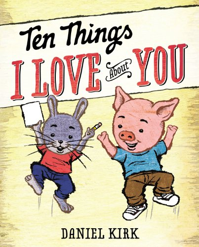 Ten Things I Love about You  #IMWAYR There's a Book for That