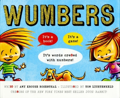 Wumbers #IMWAYR There's a Book for That