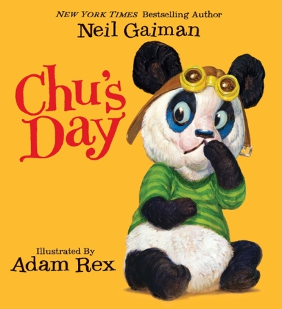 Chu's day #IMWAYR There's a Book for That