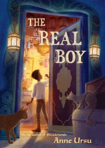 The Real Boy #IMWAYR There's a Book for That