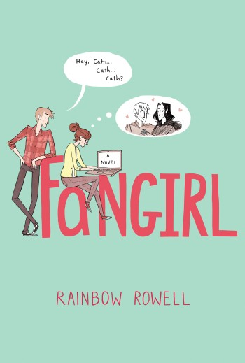 Fangirl #IMWAYR There's a Book for That