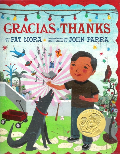 Gracias Thanks #IMWAYR There's a Book for That