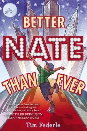 Better Nate than Ever #IMWAYR There's a Book for That