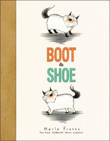 Boot and Shoe #IMWAYR There's a Book for That