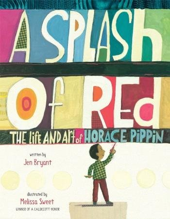 A splash of red #IMWAYR There's a Book for That