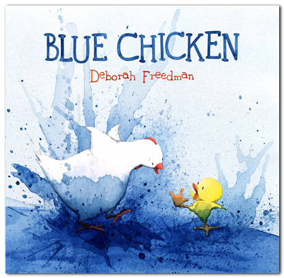 Blue Chicken #IMWAYR There's a Book for That