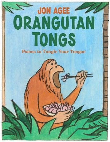 Organgutan Tongs #IMWAYR There's a Book for That