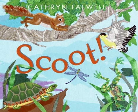 Scoot! #IMWAYR There's a Book for That