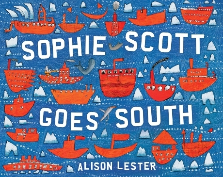 Sophie Scott Goes South #NFPB2014 There's a Book for That
