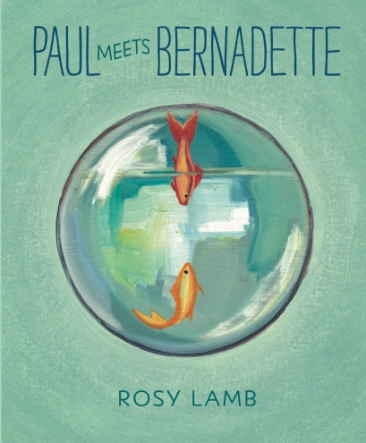 Paul meets Bernadette #IMWAYR There's a Book for That