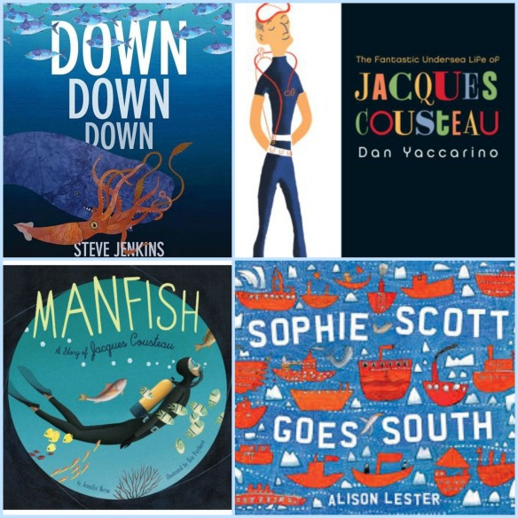 Ocean wonders: twenty nonfiction picture books about sea life