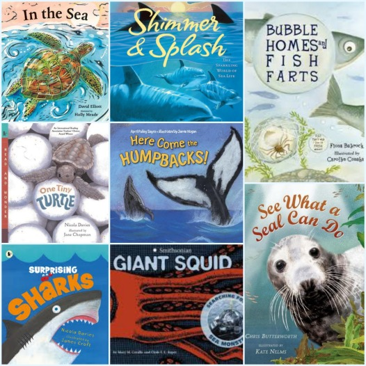 Sea Creatures  Ocean wonders: 20 nonfiction picture books about the sea There's a Book for That Nonfiction picture book Wednesday