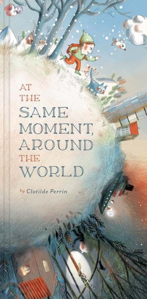 At the Same Moment Around the World #nfpb2014 There's a Book for That