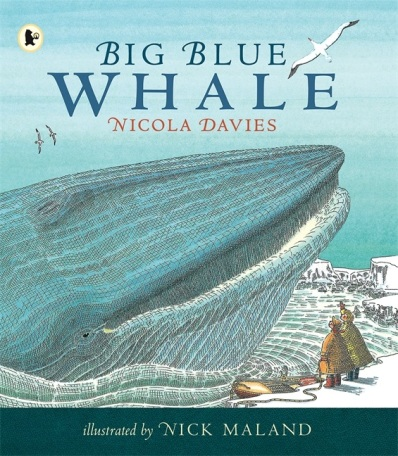 big blue whale #IMWAYR There's a Book for That