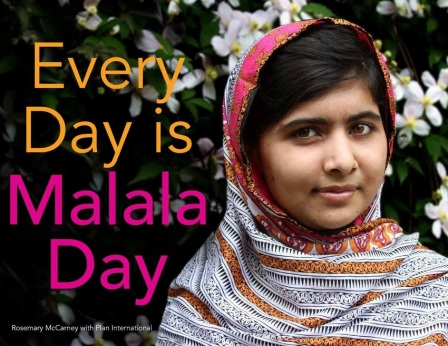 Every Day is Malala Day  Celebration: Following the Questions There's a Book for That