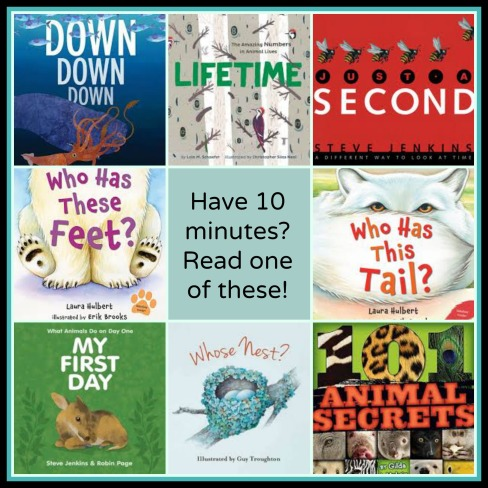 Found Time? Read some nonfiction! The importance of the nonfiction read aloud There's a Book for That