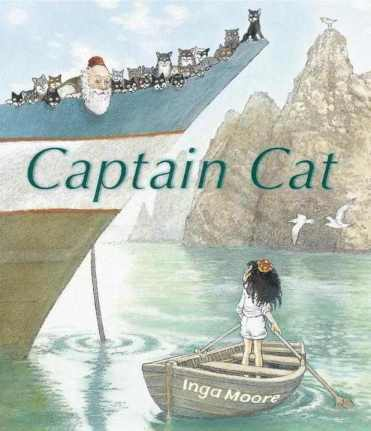 Captain Cat #IMWAYR  July 28th, 2014 There's a Book for That