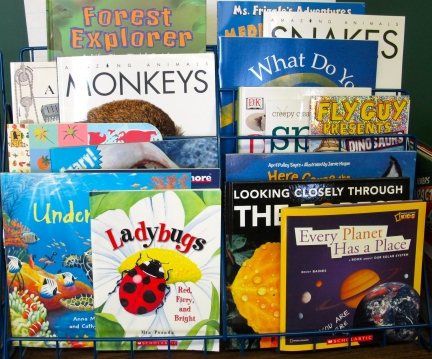 Teaching with a passion for nonfiction picture books: Part 1 There's a Book for That