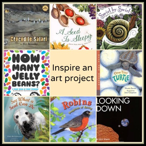 Use nonfiction to inspire an art project The importance of the nonfiction read aloud There's a Book for That