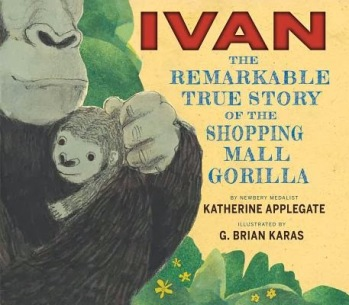 Ivan #IMWAYR There's a Book for That October 6th 2014