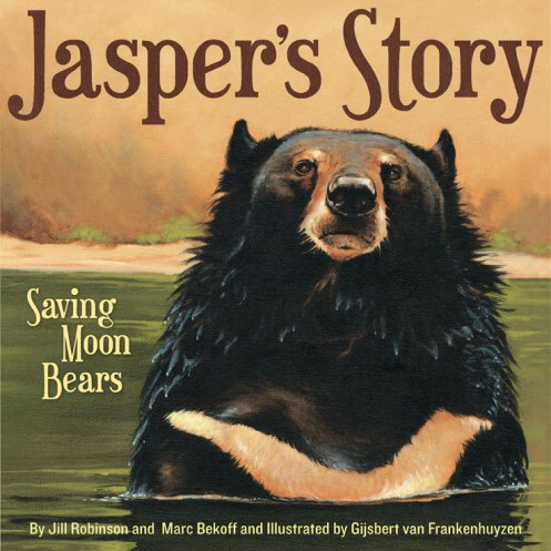 Nonfiction Picture Book Wednesday: Jasper's Story - Saving Moon Bears There's a Book for That