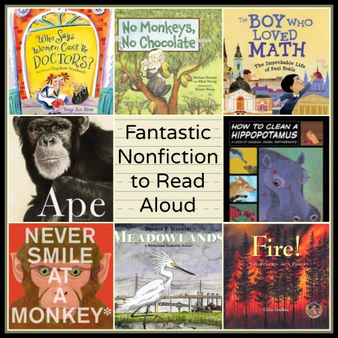Fantastic Nonfiction to read aloud Part 2 The importance of the nonfiction read aloud There's a Book for That