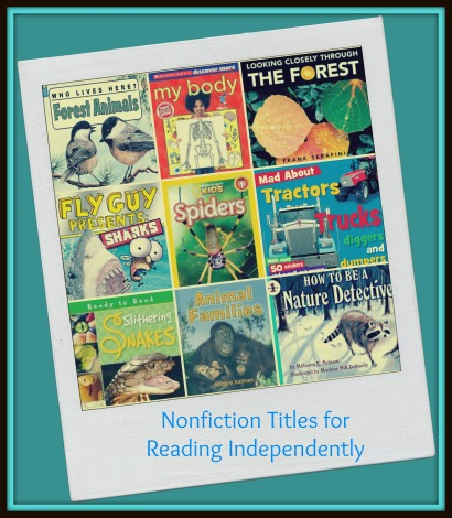 Nonfiction Titles for Reading Independently  -  Reading and Working with the Texts