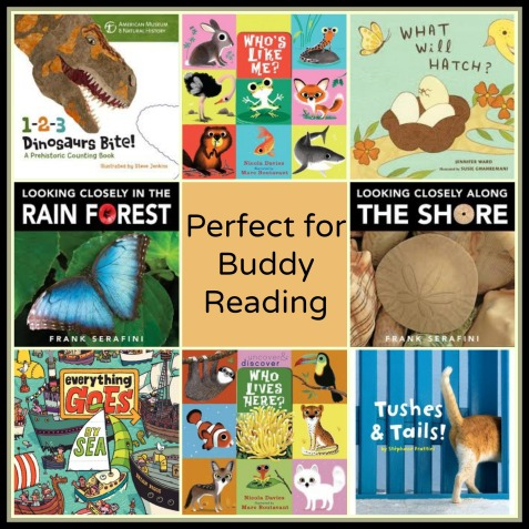 Nonfiction Titles perfect for buddy reading The importance of the nonfiction read aloud There's a Book for That