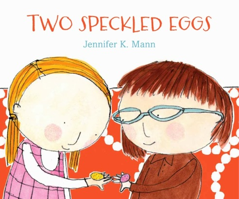 Two Speckled Eggs #IMWAYR  July 28th, 2014 There's a Book for That