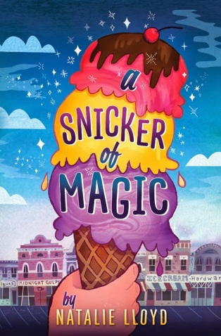 a snicker of magic  #IMWAYR There's a Book for That August 25th, 2014
