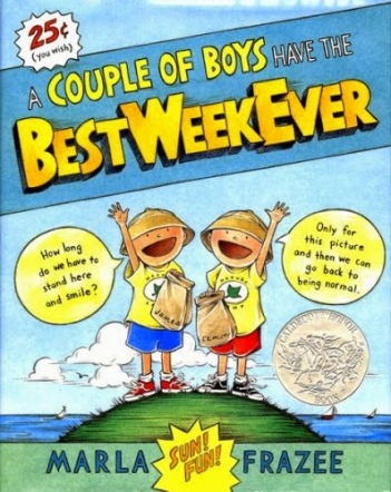 A Couple of Boys have the Best Week Ever  #IMWAYR Monday August 11th, 2014 There's a Book for That