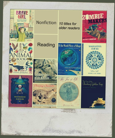 Nonfiction Picture Book Wednesday: Some favourite nonfiction titles for older readers (List 1) There's a Book for That