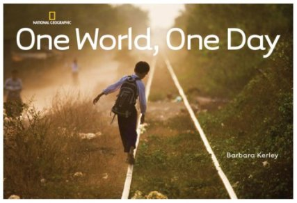 One World, One Day  #IMWAYR There's a Book for That
