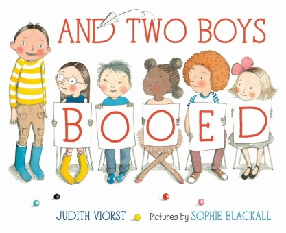 And Two Boys Booed Monday September 29th, 2014 #IMWAYR There's a Book for That