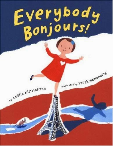 Everybody Bonjours! #IMWAYR There's a Book for That September 8th 2014