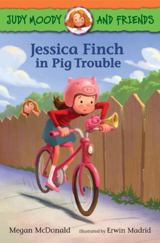 Jessica Finch in Pig Trouble #IMWAYR There's a Book for That September 8th 2014