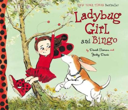 LadyBug Girl and Bingo Monday September 29th, 2014 #IMWAYR There's a Book for That